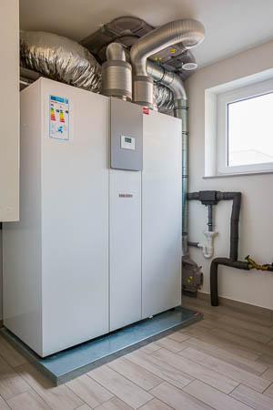 Stiebel Eltron LW Z Luft-Wasser-Wärmepumpe mit integriertem Luftpumpgerät