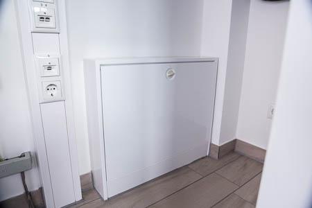 Verteilerkasten für die Fußbodenheizungen (außen)